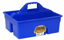 LITTLE GIANT DURA TOTE Extra Thick Sidewalls Compartments Grooming Tools Blue