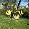 Girouette - Moulin à vent - Eolienne Abeille 46 x 38 x 103 cm