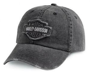 Harley Davidson Baseball Cap Modell B&S Grau #99414 -16VM