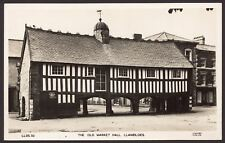 Wales. Powys. Llanidloes. The Old Market Hall Llanidloes. Vintage Photo Postcard