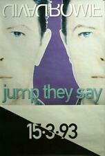 New listing David Bowie: Jump They Say Original English Promo Poster