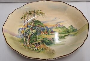 Royal Doulton Rural England Series Ware Summertime in England Bowl D6131 c1941