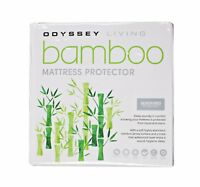 BAMBOO Mattress Protector | Hypo-allergenic Anti Dustmite EXTRA DEEP SKIRT 50CM