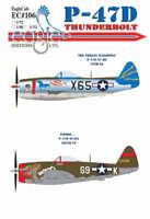 EAGLE CAL 1/32 REPUBBLICA P-47D THUNDERBOLT pt. 3 #32106