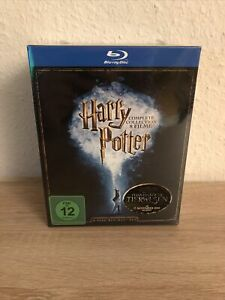 HARRY POTTER COMPLETE COLLECTION - ALLE 8 FILME - BLU-RAY BOX - NEU