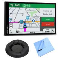 Garmin DriveSmart 61 NA LMT-S Advanced Navigation GPS Smart Feature Mount Bundle