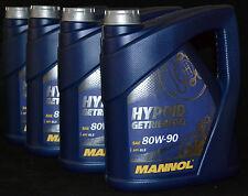 4x4=16 Liter MANNOL 80W-90 Mannol Hypoid Getriebeöl / Schaltgetriebe/ Achsen GL5
