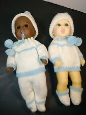 Gerber Baby Doll Collectible, 1985 Caucasian and African American