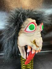 Halloween Foam latex Troll//Warthog//Razorback Teeth Brows Mask lot.