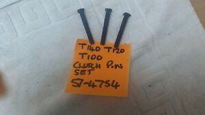 triumph T140/120/150/160/100 clutch pins setof 3