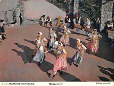 MEXISONOR carte postale musicale 45rpm FOLKLORE PROVENçAL