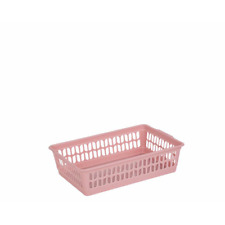 Wham Small Pink Plastic Handy Fruit Storage Basket