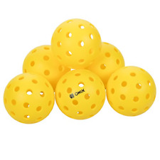 Onix Pure 2 Outdoor Pickleball Balls 6-Pack Specifically Designed and Optimized