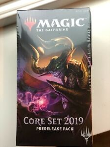 Core Set 2019 Prerelease Pack (ENGLISH) FACTORY SEALED BRAND NEW MAGIC