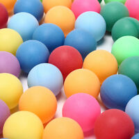 100Pcs/Pack Ping Pong Balls Entertainment Table Tennis Balls Mixed Color FH