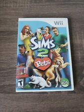 The Sims 2: Pets (Nintendo Wii, 2007) Complete With Manual Tested Fast Shipping