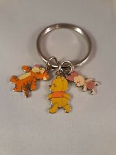 New Disney 3 Charm Tigger Winnie The Pooh And Piglet Keychain
