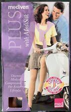 Mediven Plus w/medi silk Waist high discrete medical compression 30-40 stockings