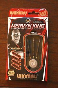 Winmau Mervyn King 22g Steel Tip ONYX coated Tungsten darts