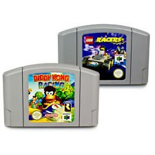 N64 Jeux Diddy Kong Racing + Lego Lego Racers