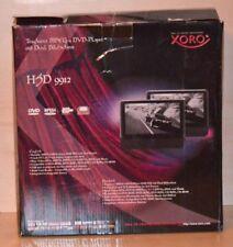 Xoro HSD 9912 tragbarer 9 Zoll DVD-Player mit Dual Bildschirm~PKW~B-Ware