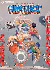 1990 Konami Punk Shot Jp Video Flyer
