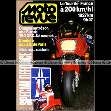 MOTO REVUE N°2762 YAMAHA 1000 VIRAGO HONDA VF 750 C SUZUKI INTRUDER VIMOND 1986