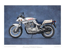 Suzuki GSX1100S Katana (1981) - Limited Edition Collectors Print by Steve Dunn