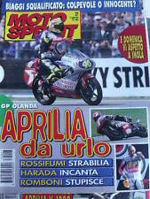 Motosprint 27 1997 Gp Olanda Valentino Rossi Aprilia  da urlo