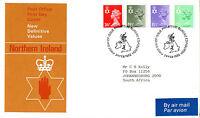 24 FEBRUARY 1982 ALL 4 N IRELAND DEFINITIVES PO FIRST DAY COVER BUREAU SHS