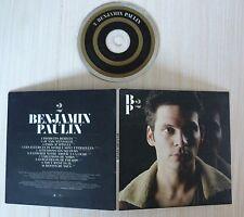 CD ALBUM PROMO BENJAMIN PAULIN 2 10 TITRES POCHETTE DELUXE