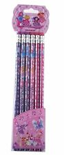 Girls Fairy Pencils Children's Party Bag Fillers Toys Pinata Favours Erasers