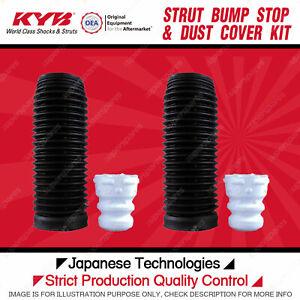 2 Front Bump Stop + Dust Cover Kit for Volkswagen CC Eos Golf MK Jetta Passat 3C