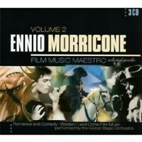GLOBAL STAGE ORCHESTRA - ENNIO MORRICONE-FILM MUSIC VOL.2 3 CD NEU