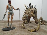 1999 McFarlane Toys Curse of the Spawn -Jessica Priest & Mr. Obersmith / Loose