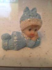 1 Resina Bambino sulla Pancia Cake Topper/Baby Shower/Compleanno/Battesimi