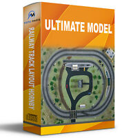 ULTIMATE MODEL RAILWAY TRACK LAYOUT RESOURCE MULTI GUAGE HORNBY