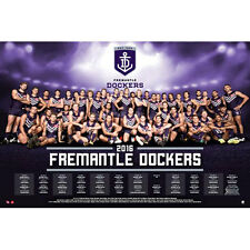 AFL - 2016 Team Posters Fremantle Dockers POSTER 61x91cm NEW * Footy