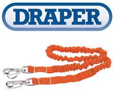Draper 3kg Lanyard Herramienta Seguridad Cuerda Elástica Arnés Trabajo de Altura