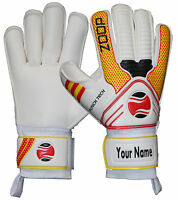 Zoop Pro goalkeeper High Quility Roll Finger Saver Gloves Size 5/6/7/8/9/10.