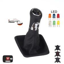 Original ICT shift gear knob gaiter leahter VW Golf Sportsvan illuminated A 03