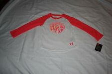 UNDER ARMOUR GIRLS 3T L/S T SHIRT NWT
