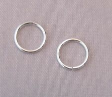 7mm 925 Stirling Silver Open Jump Rings Jewellery Making/Repair 3 pack sizes C12