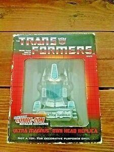 Transformers Ultra Magnus New York Comic-Con Exclusive Mini Head Replica NIB