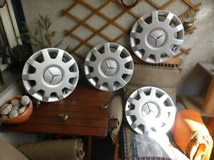 "4x Orig 15""Zoll Mercedes B-Klasse W 245 Radkappe A1694001125"