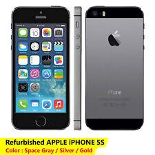 "Apple iPhone 5S 16Gb 32Gb  Factory Unlocked 4.0"" inch smart Phone Refurbished"