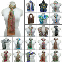 New Silk Long Scarf Fashion Women Neck Wrap Hijab Shawl Stole Scarves -SFP16