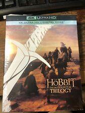 The Hobbit Trilogy (4K HD + Blu-ray + Digital)  NEW / Sealed /