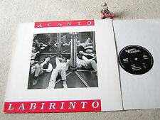 ACANTO Labirinto 1989 SWISS LP + OIS BRAMBUS 198902-1, FINE ITALY FOLK