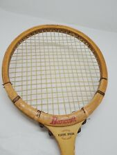 Bancroft Players Special Squash Racket Wooden Bamboo For Tournament Players VTG